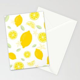 Lemon Blossom Stationery Cards