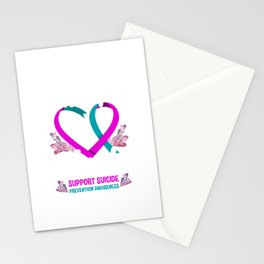 Miss My Uncle Family Suicide Prevention Awareness Stationery Cards