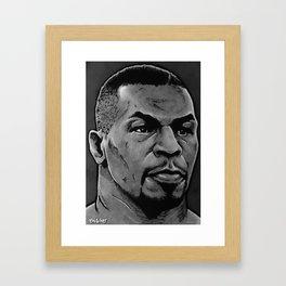 Mike Tyson: The KO Kid Framed Art Print