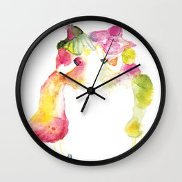 Rainbow Fashion Wall Clock
