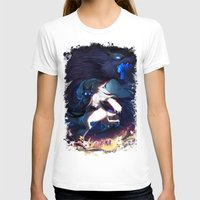 league of legends T-shirts featuring League of Legends - Kindred by dNiseb