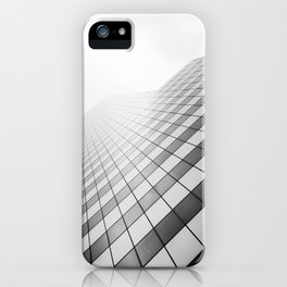 Grid Towards the Sky. iPhone Case