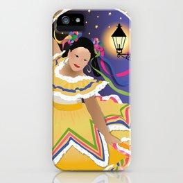 Fiesta Mexican Dancer iPhone Case