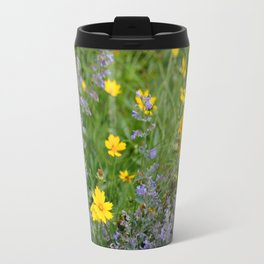 Wildflowers , Coreopsis and Tickseed Travel Mug