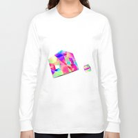 games Long Sleeve T-shirts featuring GAMES by DIZYGOTIK