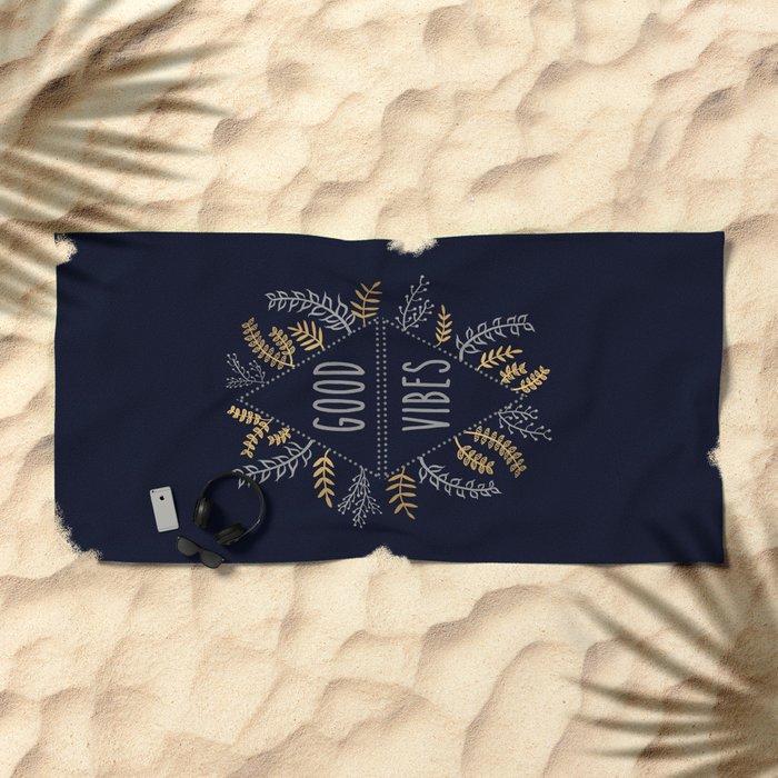 GOOD VIBES #2 Beach Towel