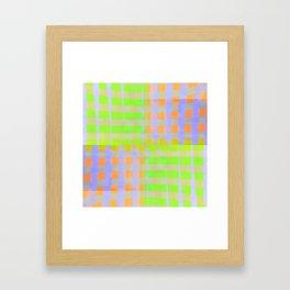 zing zong. neon Framed Art Print