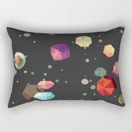 Space gems Rectangular Pillow