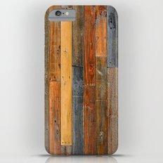 Jumbled Planks Slim Case iPhone 6s Plus