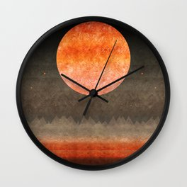 """Sabana night light moon & stars"" Wall Clock"