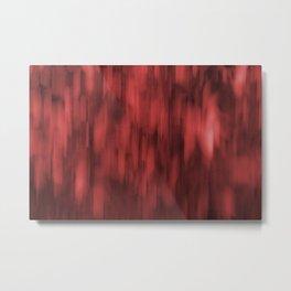 Sliding Paint Reds Metal Print