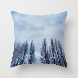 Stormy Nights Throw Pillow