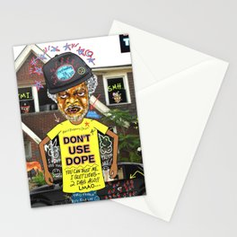 Uncle Freeloaders Life Story Remixed Stationery Cards