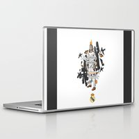 ronaldo Laptop & iPad Skins featuring Football Legends: Cristiano Ronaldo by Akyanyme