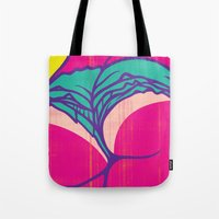 booty Tote Bags featuring Booty Clap by Tony Easley