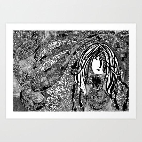 Falling Into You Art Print