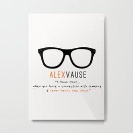 Alex Vause #2 | Connection | OITNB Metal Print