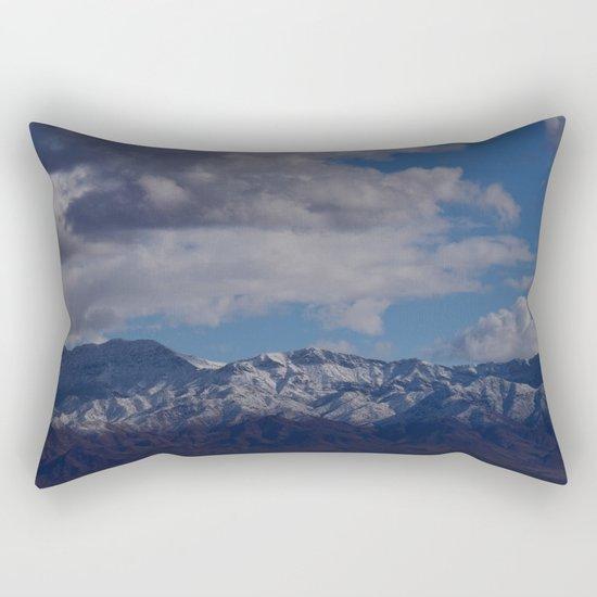 Desert Snow on Christmas! Rectangular Pillow