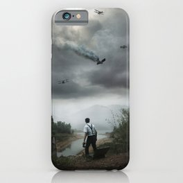 Discovering Grace iPhone Case