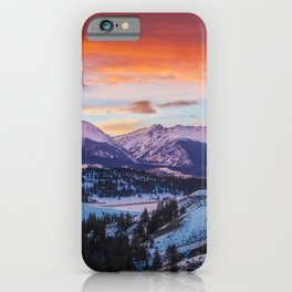 Paint the Sky iPhone Case