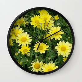 Perky Posy Patch Wall Clock
