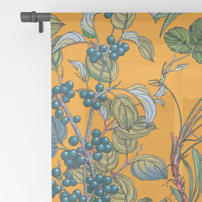 Vintage Garden VII Sheer Curtain
