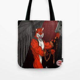 Tiger Warrior Tote Bag