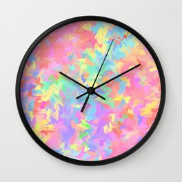 c-c-c-colour Wall Clock