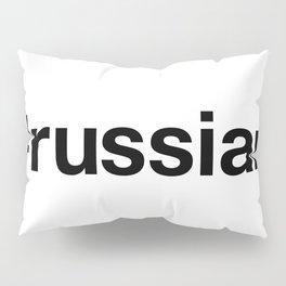 RUSSIAN Hashtag Pillow Sham
