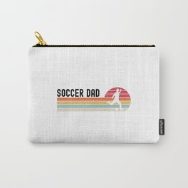 Soccer Dad  TShirt Daddy Shirt Papa Gift Idea Carry-All Pouch