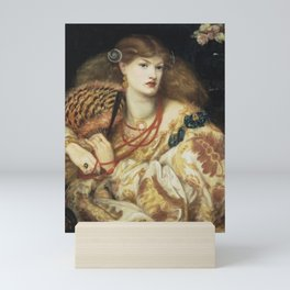 Dante Gabriel Rossetti - Monna Vanna Mini Art Print