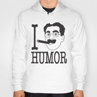 humor Hoodies featuring I __ Humor by senioritis