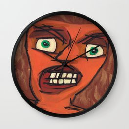 Sour Strawberries Wall Clock