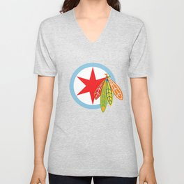 City of the Four Feathers Unisex V-Neck