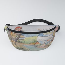 Cock and Goose Fanny Pack