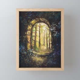 The Secret Way Framed Mini Art Print