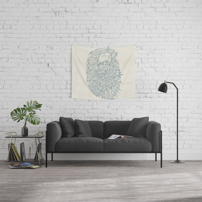 Zeus Wall Tapestry