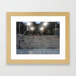 skaters Framed Art Print