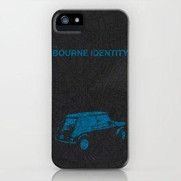 Bourne Map iPhone Case