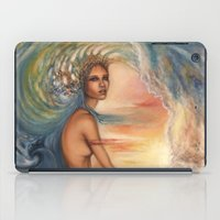 siren iPad Cases featuring Siren by Erica Wexler