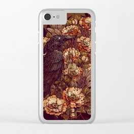 Corvus Corax Clear iPhone Case