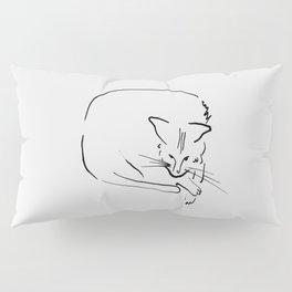 Relaxing Cat Pillow Sham