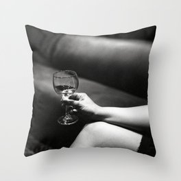 Doubles Club NYC Throw Pillow