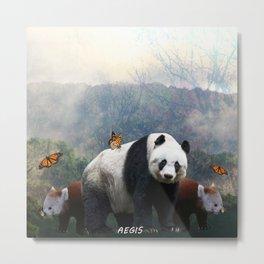 Aegis Panda Metal Print