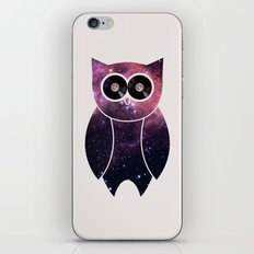 Owl Night Long iPhone & iPod Skin