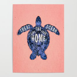 ocean omega (variant 3) Poster