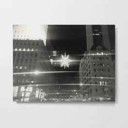 Holiday season in New York City I. Metal Print