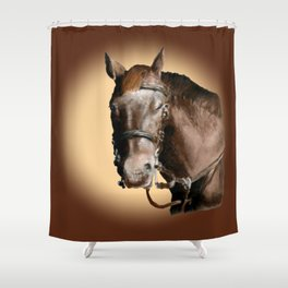 Season of the Horse - Pudding Shower Curtain