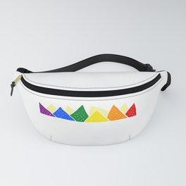 Rainbow Color Pico De Gayo Gay Pride Gift Fanny Pack