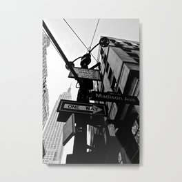 Madison Avenue Metal Print